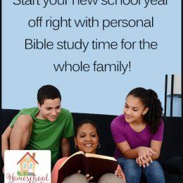 FREE Family Bible Study Plan