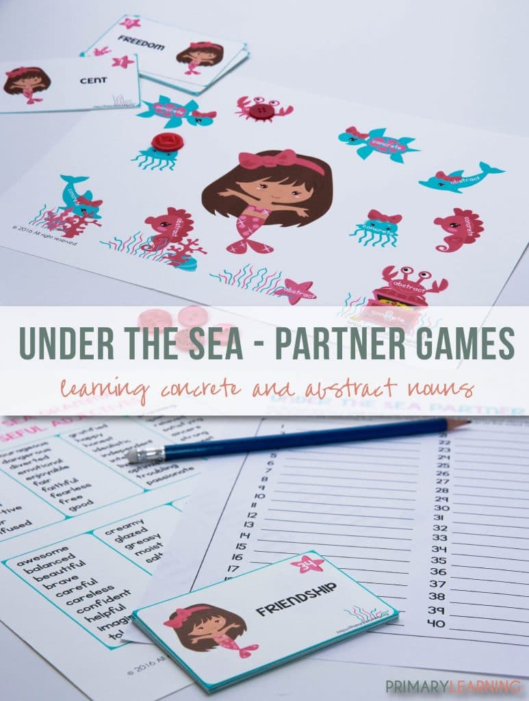 FREE Noun Partner Game