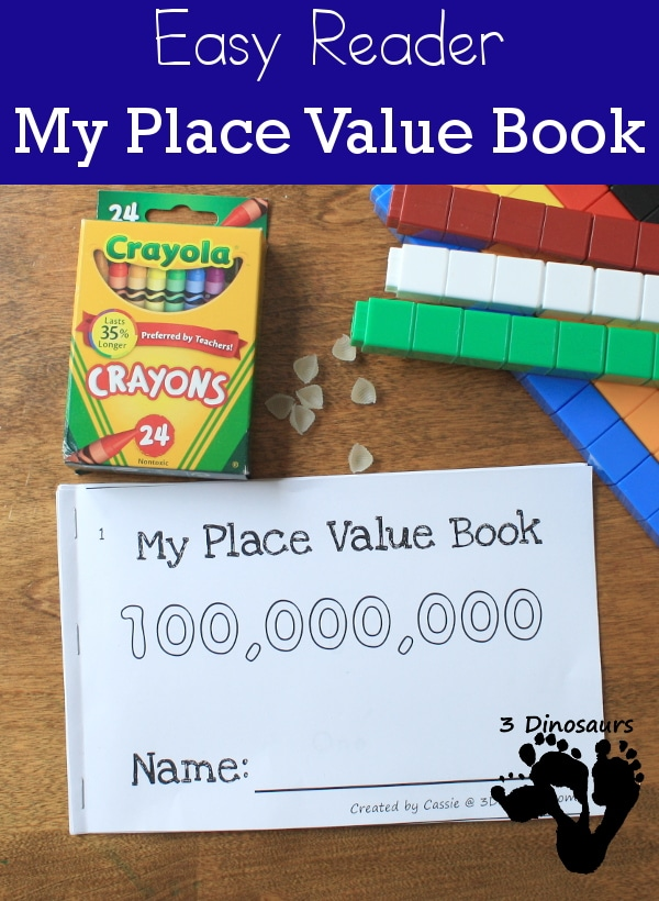 FREE My Place Value Easy Reader