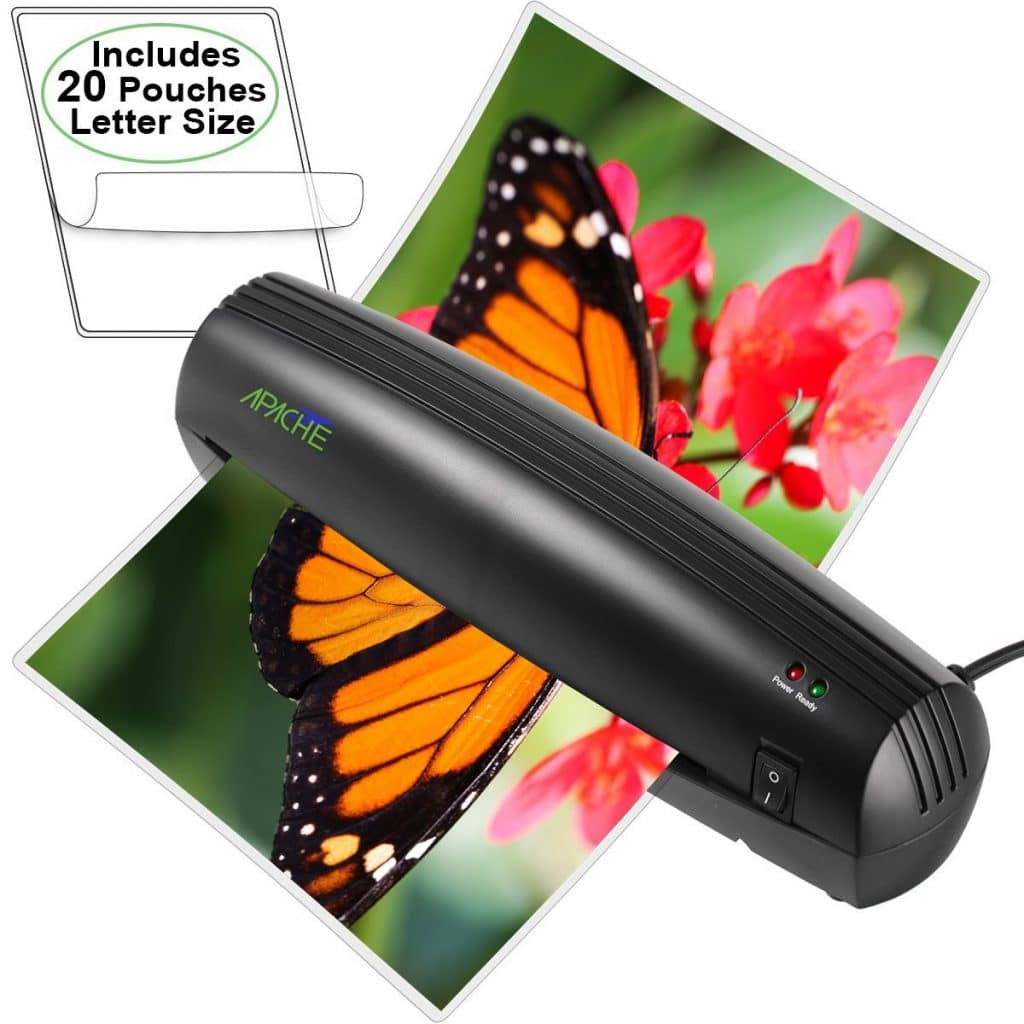 Apache Thermal Laminator Only $14.96! (Plus 20 Pouches!)