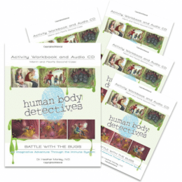 Human Body Detectives Battle of the Bugs Workbook & Audio CD Only $22.49 (75% Off!)