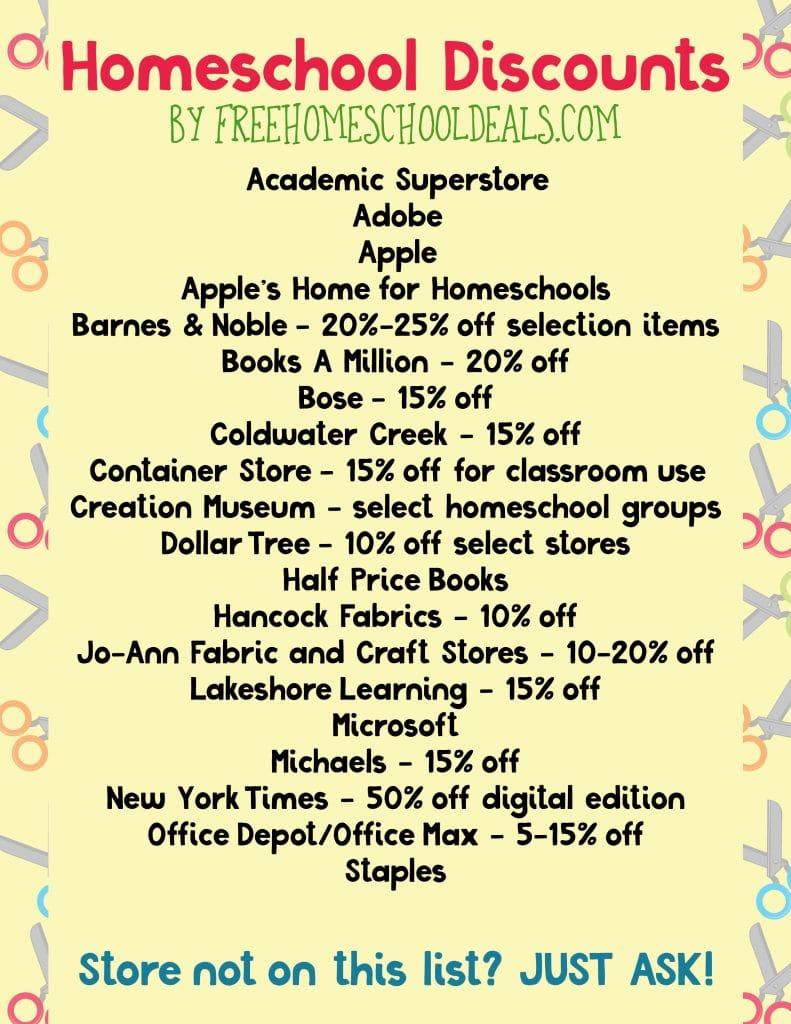 homeschool-discounts
