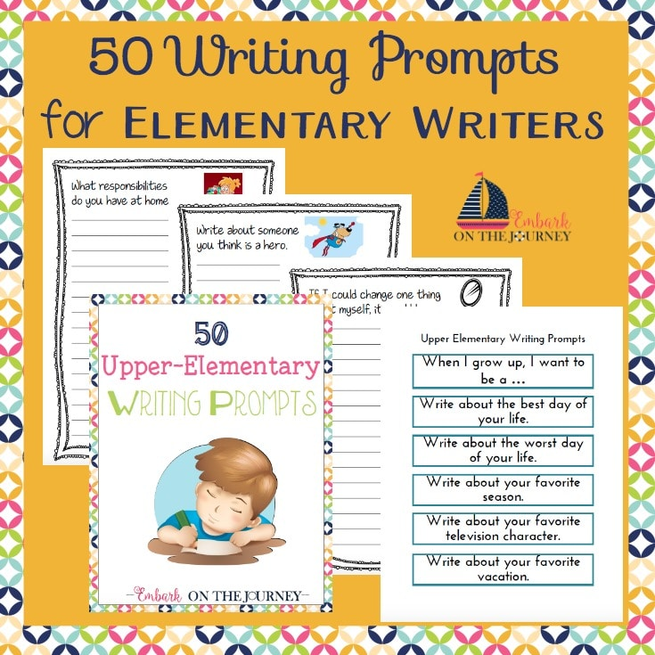 FREE 50 Writing Prompts