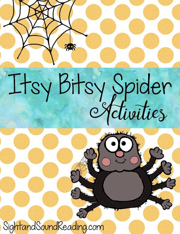 photograph regarding Itsy Bitsy Spider Printable identified as Absolutely free Itsy Bitsy Spider Routines