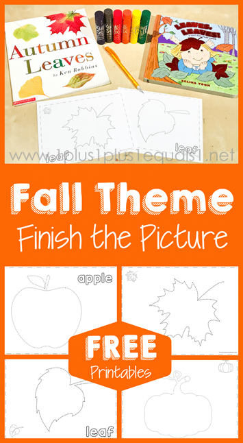 Enjoy a little Fall creativity with this Fall-Themed Finish the Pictures Pack! #fhdhomeschoolers #freehomeschooldeals #homeschooling #hsfreebies #fall