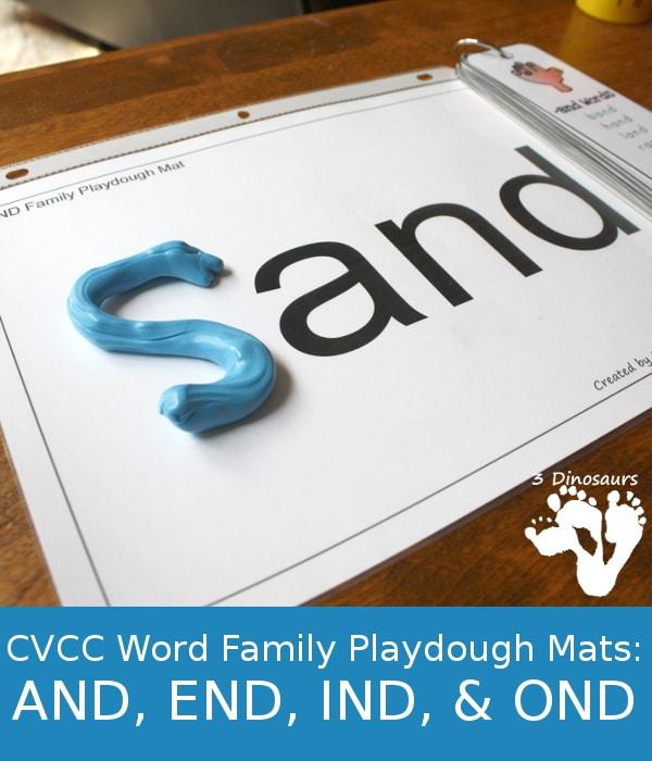 FREE CVCC Word Family Se