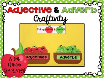 FREE Adjective and Adverb Pack