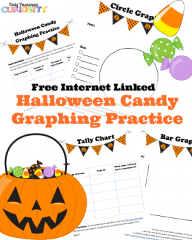 Free Halloween Candy Graphing Practice Printable