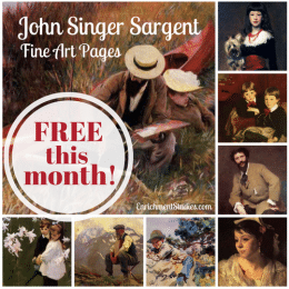 FREE Fine Art Pages