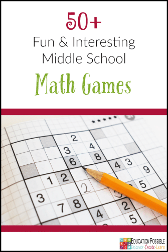 FREE Middle School Math Games