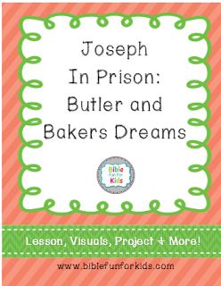 FREE Joseph in Prison Lesson