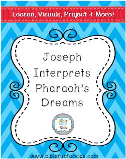 FREE Joseph's Dream Lesson