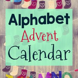 Free Alphabet Advent Calendar