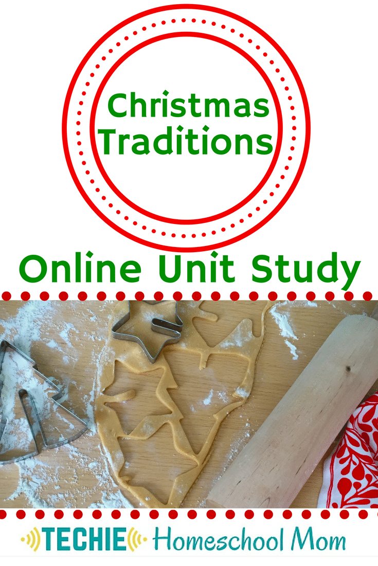 Free Christmas Traditions Online Unit Study