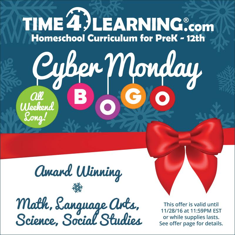 Time4Learning BIG Sale: Buy One Month Get One Free!