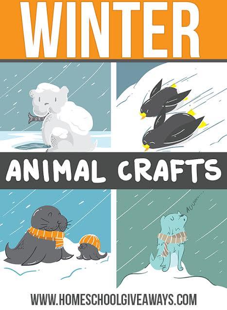 Winter Animal Craft Ideas
