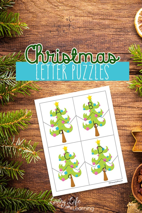 Free Christmas Letter Puzzles