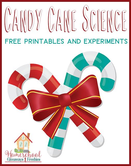 Free Candy Cane Science Experiment Printables