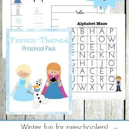Free Frozen Printables for Preschoolers
