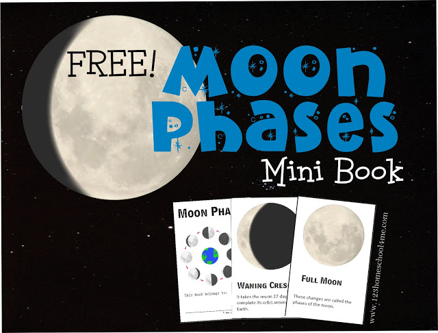 Free Moon Phases Mini-Book