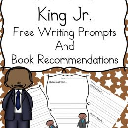 Free Martin Luther King, Jr. Writing Prompts