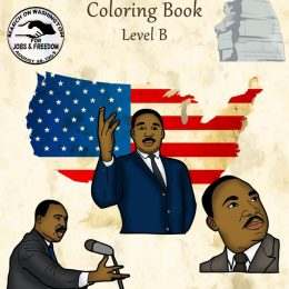 Free Martin Luther King, Jr. Coloring Book