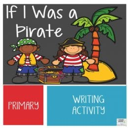 Free Pirate Writing Printables