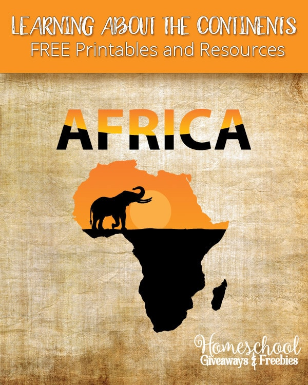 Free Africa Printables and Resources