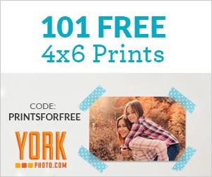 101 4 x 6 Free Prints