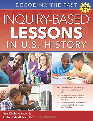 Inquiry-Based Lessons in U.S. History Book Only $16.95! (Reg. $22!)