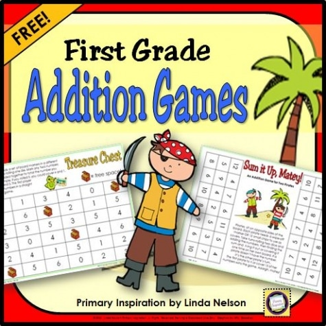 Free First Grade Addition Game