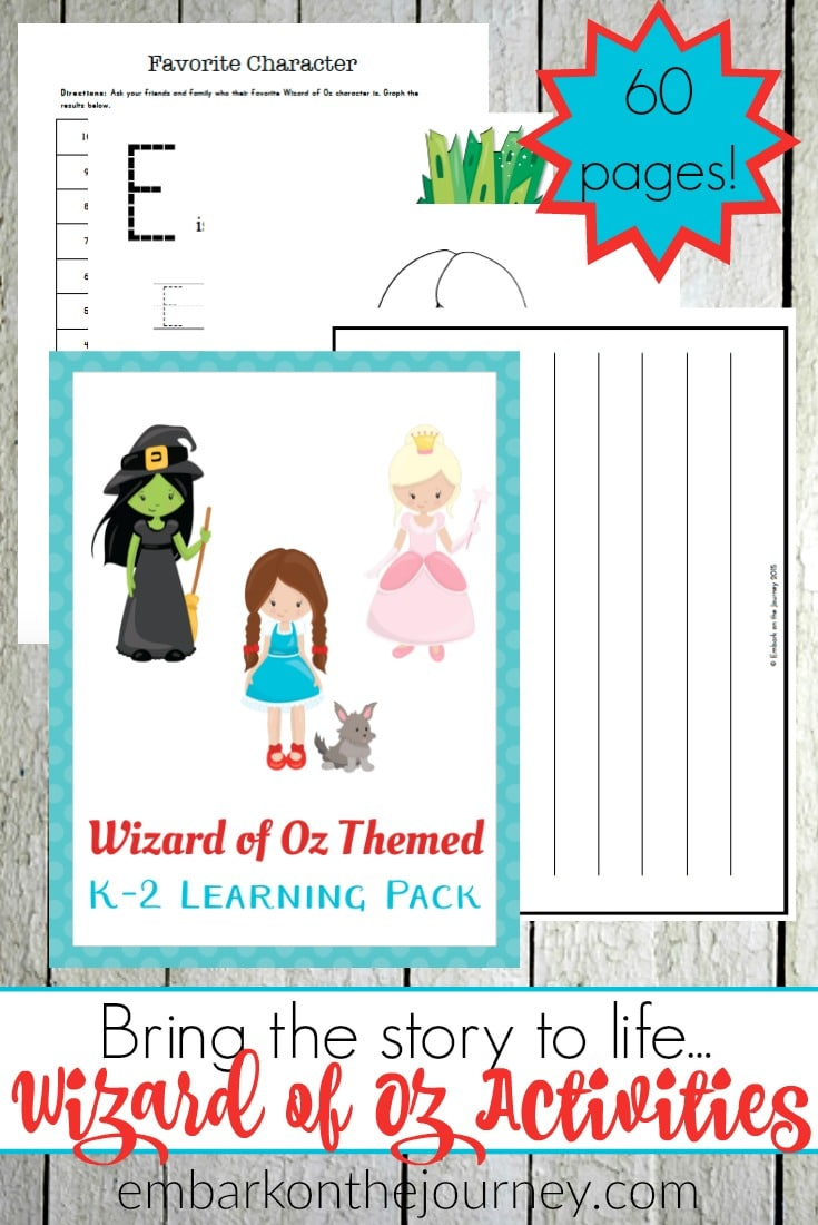 Free The Wizard of Oz Printables (60 Pages!) | Free Homeschool Deals ©
