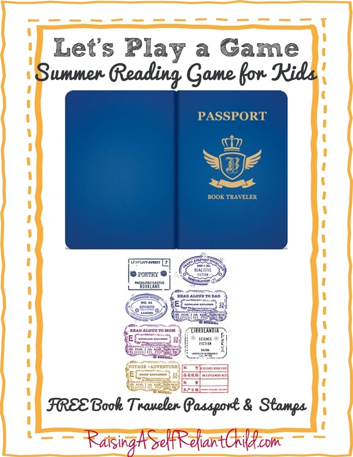 Free Book Traveler Passport Reading Adventure