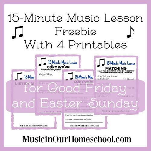 Free Easter Music Lesson w/ Printables