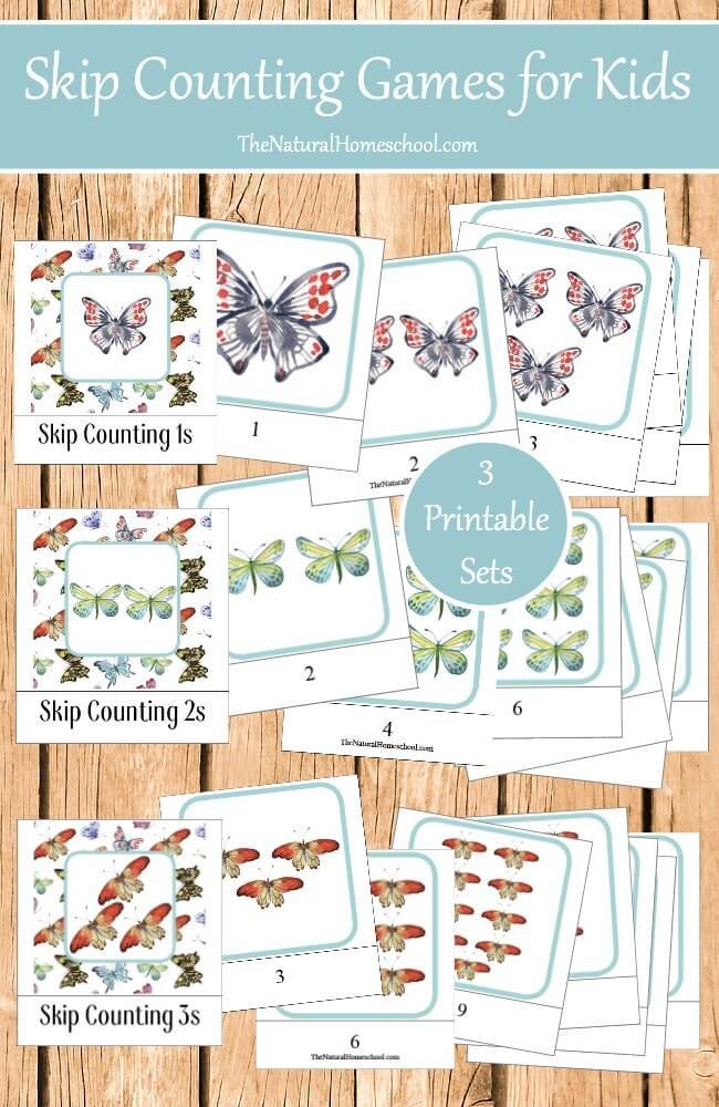 Free Skip Counting Games for Kids
