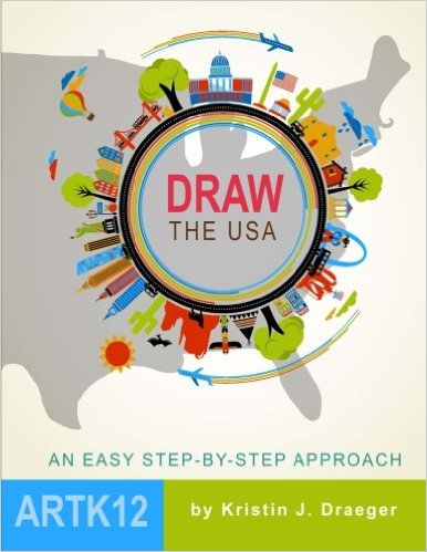 Draw the USA Book Only $12.12! (Reg. $20!)