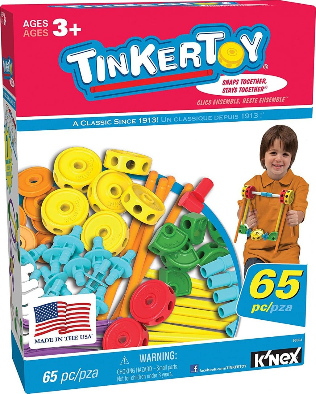 Tinkertoy 65 Piece Value Set Only $14.49! (Reg. $25!)