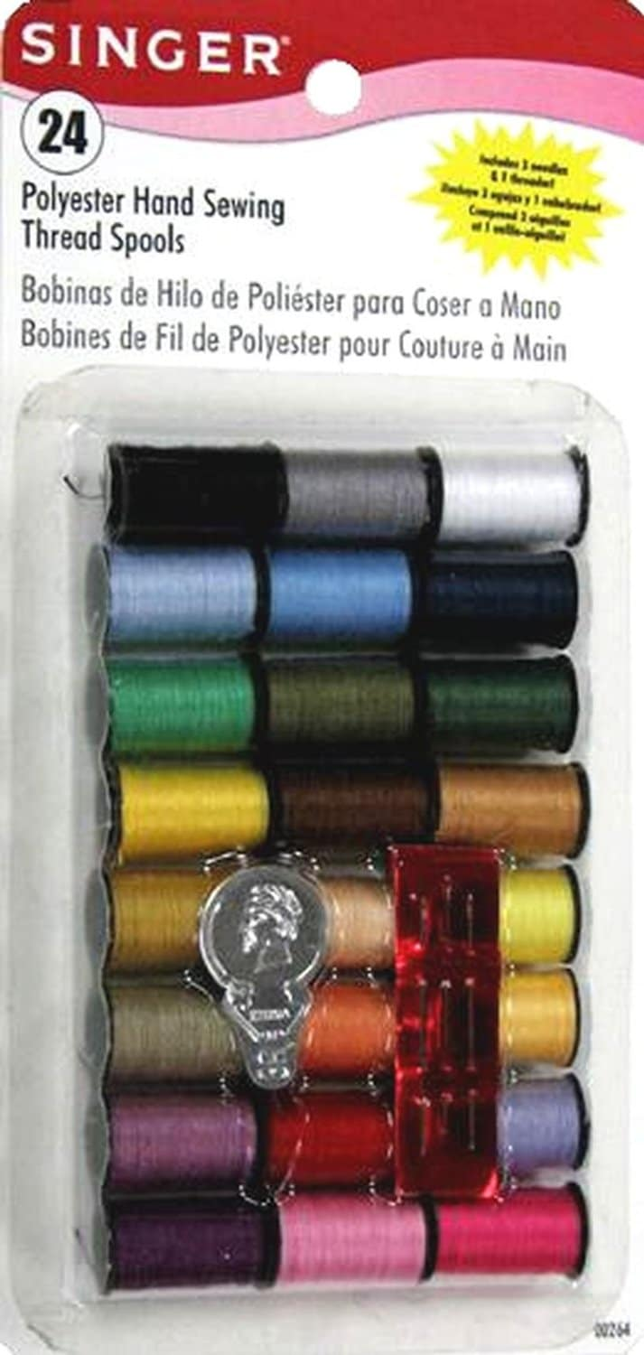 Singer 24 Spool Polyester Thread Only $1.77! (54% Off!)