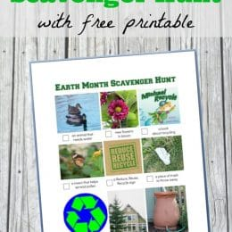 Free Earth Day Scavenger Hunt