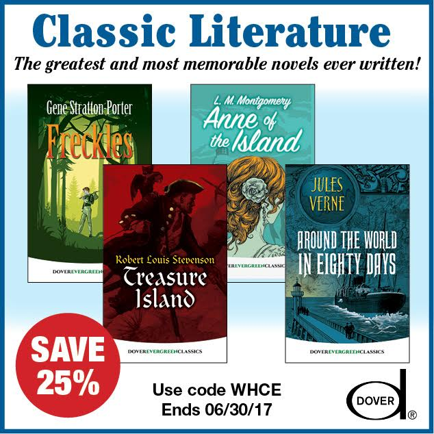25% Off Children's Literature from Dover