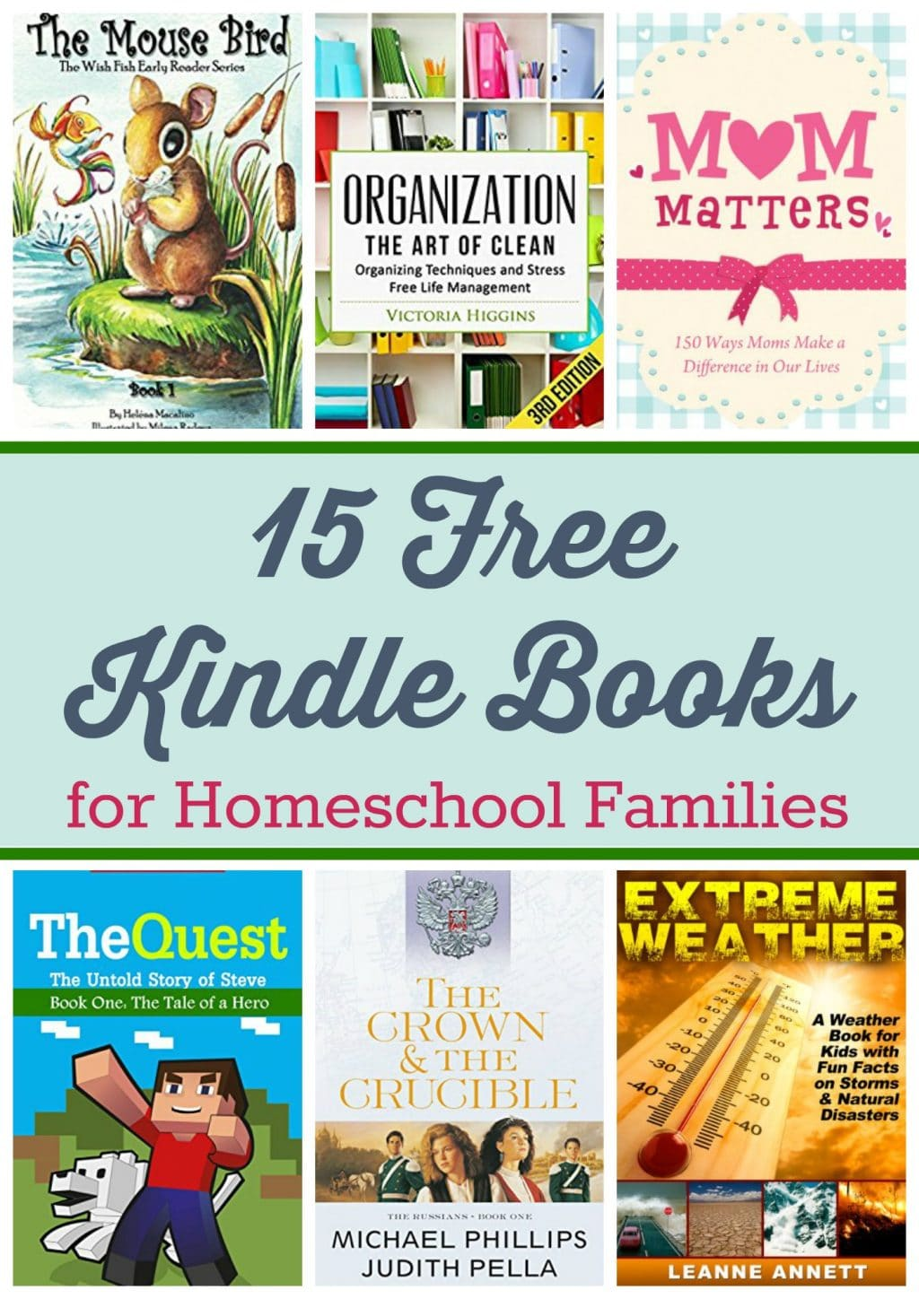 15 Kindle Freebies: Five Children & It, The Crucible and the Crown, & More!