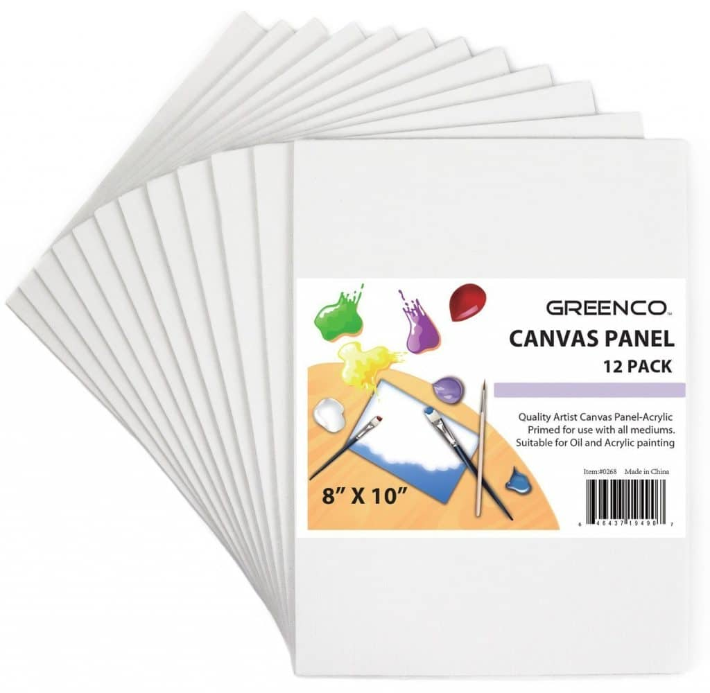 8x10 Canvas Panel 12 Pack Only $11.89! (50% Off!)