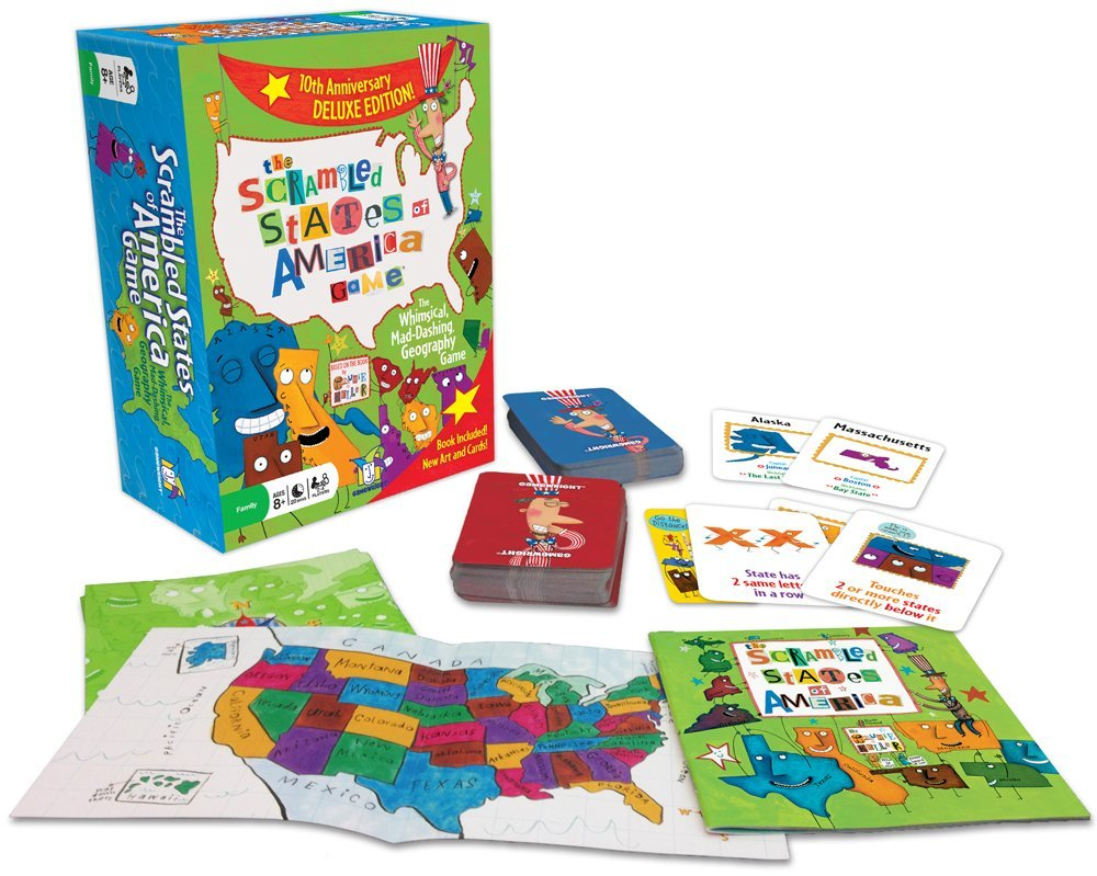 The Scrambled States of America Game Only $8.94! (40% Off!)