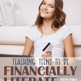 Free Financial Literacy Printables for Teens