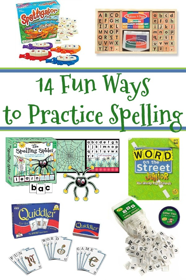 14 Fun Ways to Practice Spelling