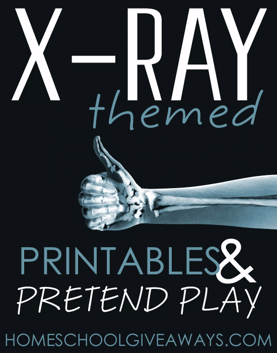 Free X-Ray Themed Printables