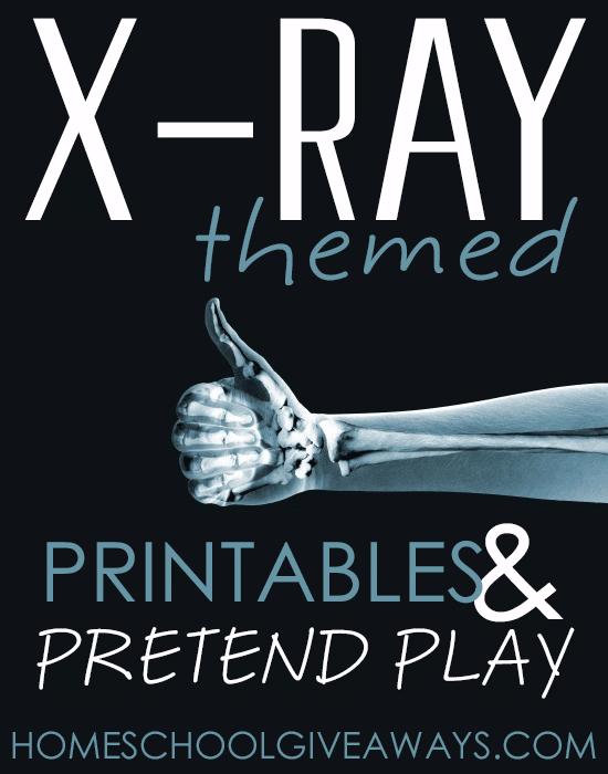 Free X-Ray Themed Printables