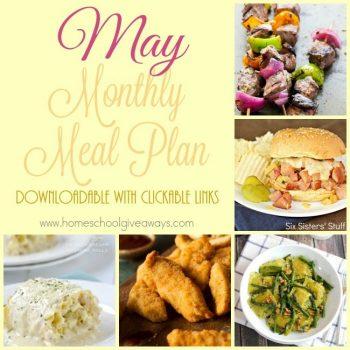 Free May Meal Plan
