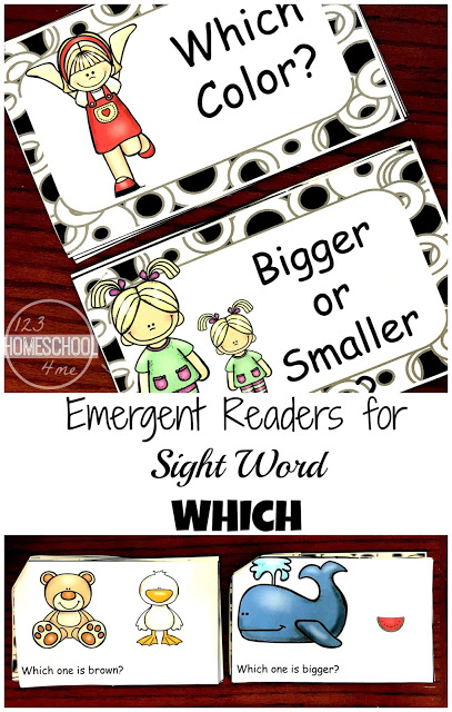 Free Kindergarten Sight Word Readers