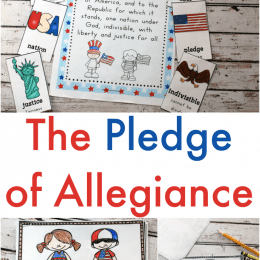 Free Pledge of Allegiance Printables